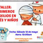 primeros auxilios para bebés